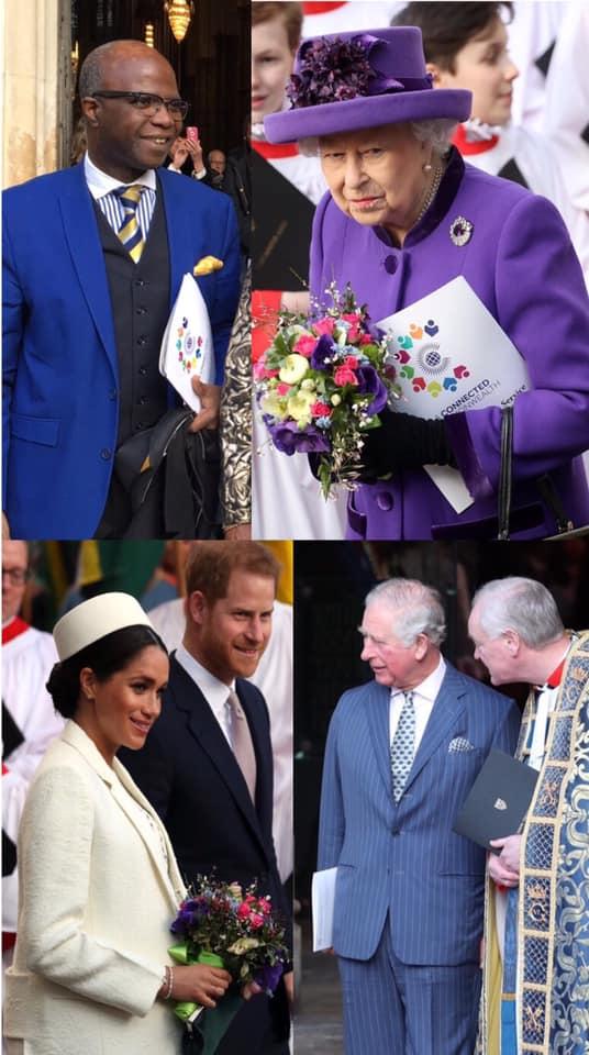 Professor Imafidon joins Queen Elizabeth II in celebrations